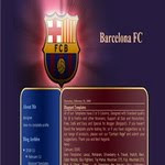 FCBarcelona blogspot Template