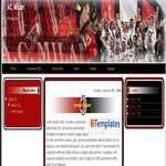 AcMilan blogspot Template
