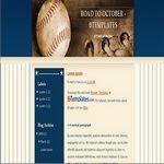 Baseball Blogspot blogspot Template