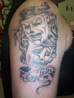 Smile Now Cry Later Tattoos