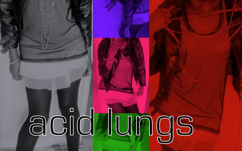 acid lungs.