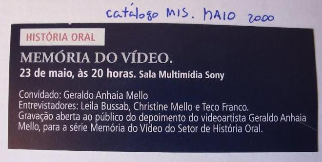 Memória do vídeo
