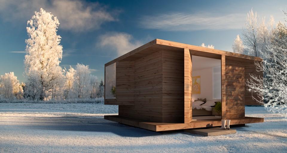 La madera en la arquitectura casas de madera minimalistas for Arquitectura de madera
