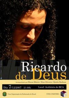 Mais Ricardo, mais música!