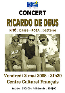 Ricardo + Kisó + Rosa = Música!