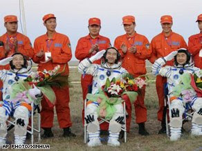 China First Space Walk!