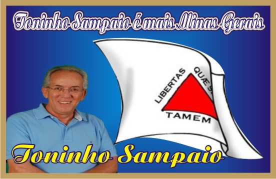 Toninho Sampaio é mais Minas Gerais