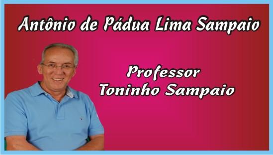 Professor Toninho Sampaio