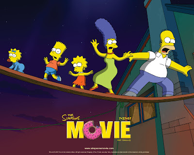 The Simpsons Movie - Best Movies 2007