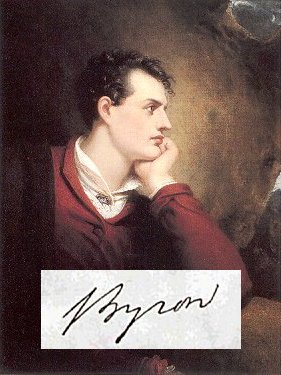 a biography and life work of george gordon byron an english poet George gordon byron, 6th baron byron, later george gordon noel, 6th baron byron (22 january 1788 – 19 april 1824), commonly known simply as lord byron, was a british poet and a leading figure in romanticism.