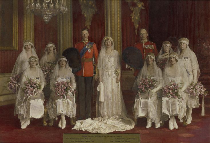 Portrait Archaeology: The Wedding Of Princess Mary Of Great Britain ...