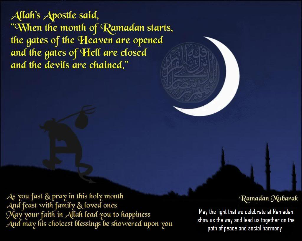 Pantun Menyambut Bulan Puasa Puasa Koe