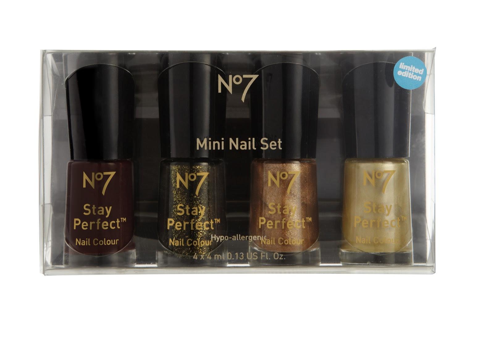 The Beauty Scoop!: Swatches: Boots No7 \'Precious Metals\' Mini Nail ...