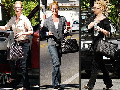 lauren conrad chanel purses. katherine with a chanel bag