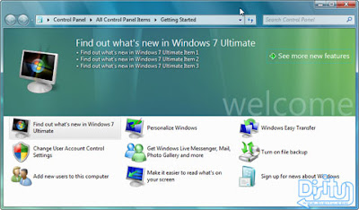 Windows 7 Pengganti Windows Vista yang gagal (katanya)