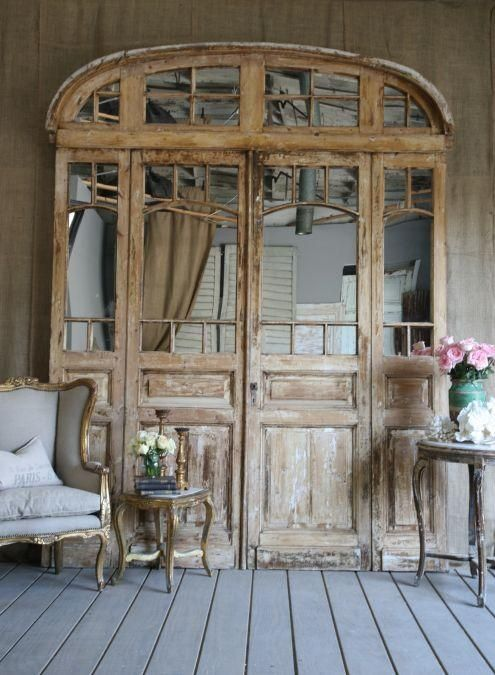 The pocket stylist an open door - Porte shabby chic ...