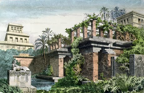 Hanging gardens of babylon seven wonders of the ancient world minimalist home dezine for When was the hanging gardens of babylon destroyed