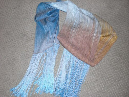 RayonChainette and Cotton Scarf 2008