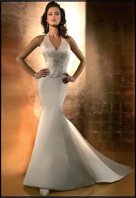 Modern Bridal Dress