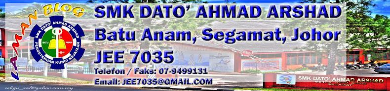 SMK DATO' AHMAD ARSHAD, BATU ANAM, SEGAMAT, JOHOR