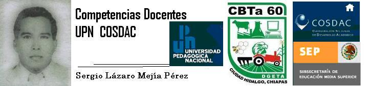 Competencias Docentes UPN COSDAC
