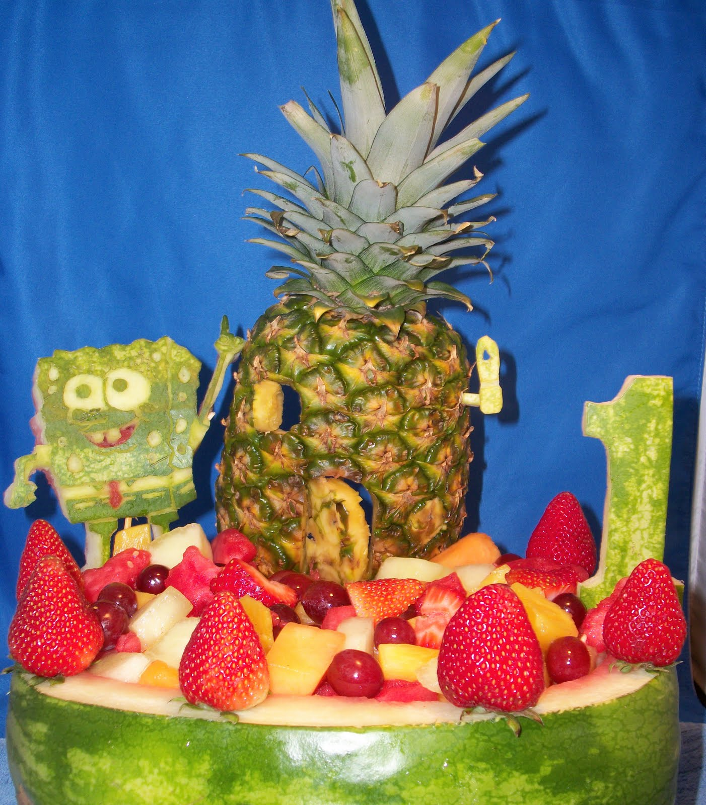 Cool fruit carvings