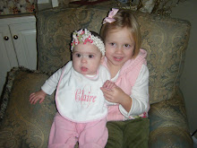 Cathryn and Claire 6 months