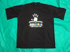 """Camiseta BIBLIBRAS """"M"""""""