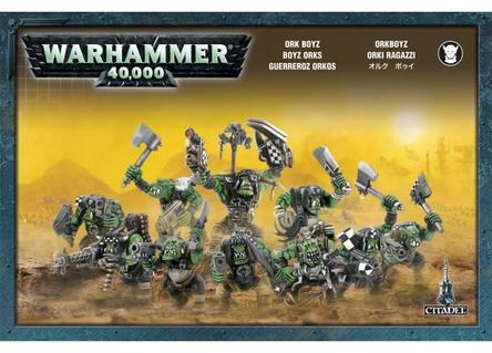 Ork Boyz Orks Warhammer 40k NEW
