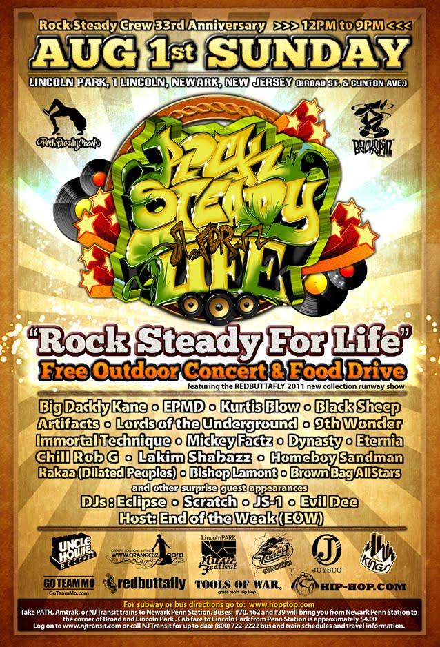 sunday august 1st  rock steady
