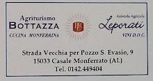 Agriturismo Bottazza - Casale Monferrato