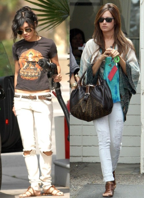 Vanessa Hudgens Easy Casual Fashion Casual but keep fashionable