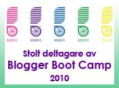 Blogger Boot Camp 2010