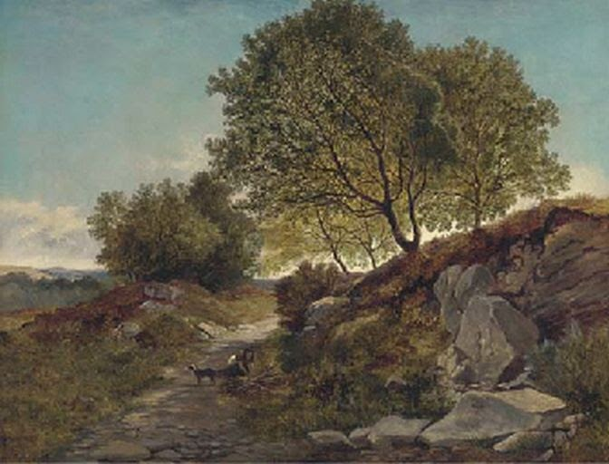 Lower Boddington United Kingdom  city images : British Paintings: Henry John Boddington Gathering firewood