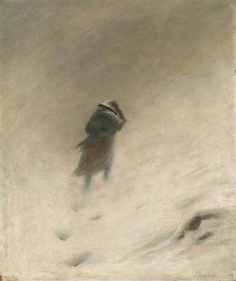 The Blizzard - Joseph Farquharson