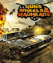 juegos para celulares muchas resoluciones parte 2 Guns+Wheels+Madheads+3D