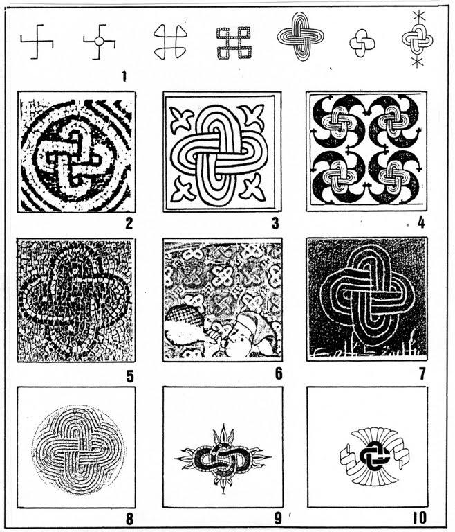Swastika Tattoo Designs