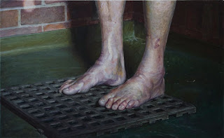 foot painting by andries