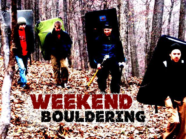 Weekend Bouldering Blog