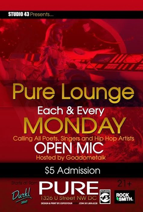 PURE LOUNGE HOSTED BY GOADOMETALK.COM