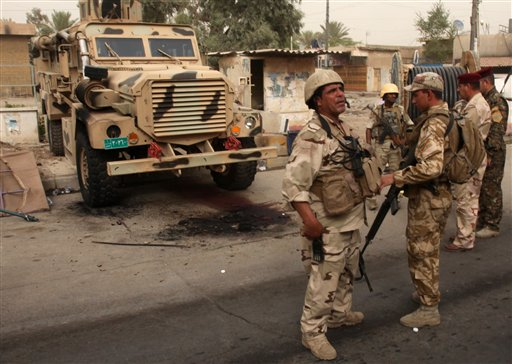 al qaeda flag. Granted, the al Qaea in Iraq