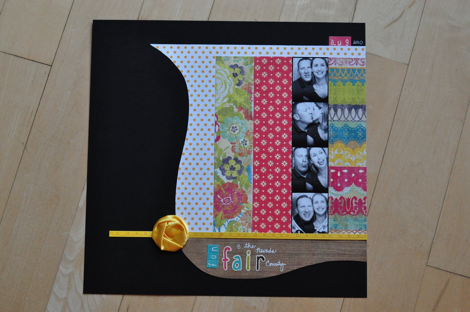 Scrapbook ideas niagara falls - This Layout Features Papers Stickers And Embellishments From The September Scrapbook Circle Kit The Only Thing I Had To Pull From My Existing