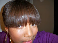 straw set --- this hairstyle is great for those who are transitioning ...