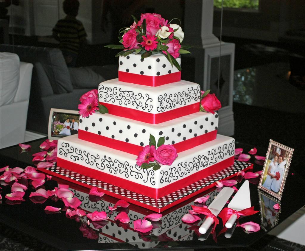 Patty Cakes Bakery Megan And Dustys Wedding Cake