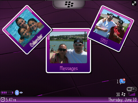 free girly blackberry 8520 themes ota