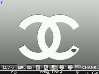 Chanel 01 Chanel BlackBerry 8520/8530 Curve Themes (OS 4.6 and 5.0)