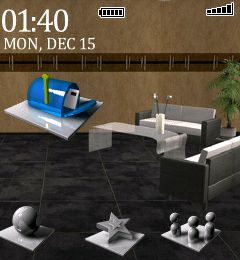 3d office 3D Office Blackberry Pearl Theme (4.5)