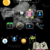 Hocus Pocus BlackBerry Torch Halloween Theme 1 Halloween Hocus Focus Blackberry Torch