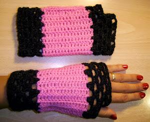 Guantes para Damas sin dedos estilo Gótico