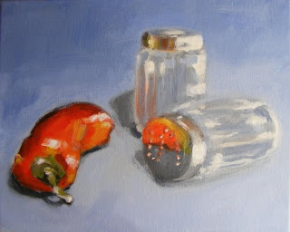 salt and pepper painting